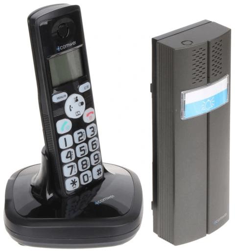 Domofon bezprzewodowy + telefon