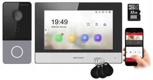 Video domofon bezprzewodowy - przewodowy - wifi